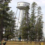 Edson water tower deomolition